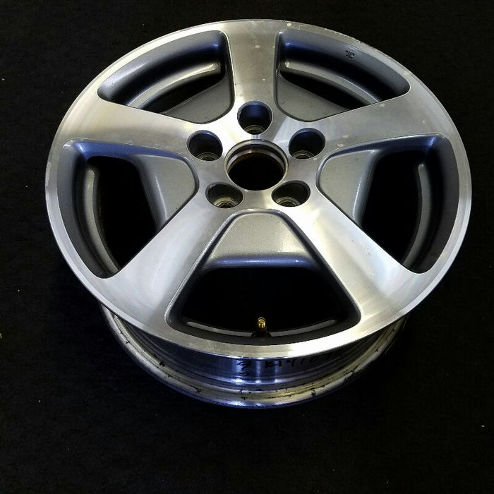 "16"" ACCORD 05 16x6-1/2, alloy, 5 spoke, 6 cylinder (Hybrid), Asahi manufacturer (thru VIN 5C010572) Original OEM Wheel Rim 63892B"