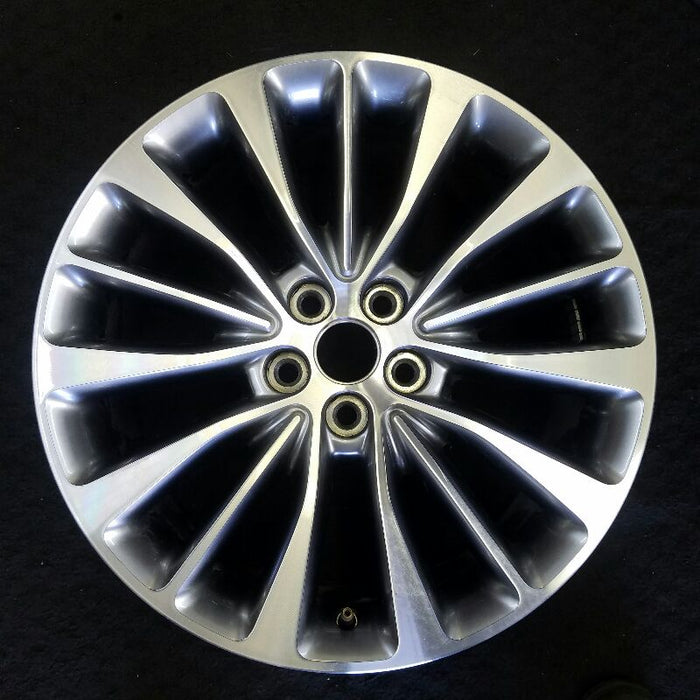 "18"" MKX 16-17 18x8 (aluminum), 15 spoke, (machined face with painted background) Original OEM Wheel Rim 10072"