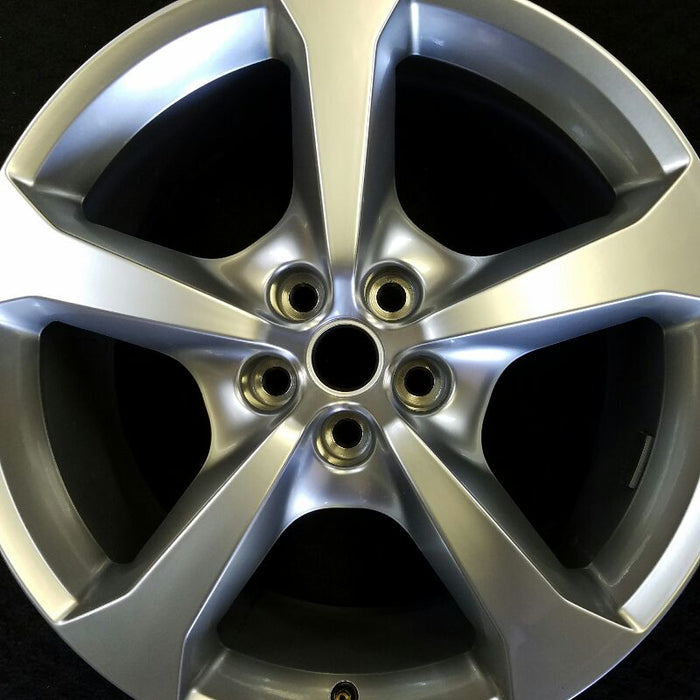 "20"" CAMARO 13 20x9 (rear), (5 spoke), silver, opt R42, standard silver Original OEM Wheel Rim 5581"