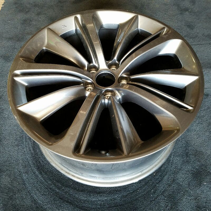 "20"" INFINITI Q60 18 (Cpe), 20x9 ( alloy, front or rear ), (10 spoke) Original OEM Wheel Rim 73803"