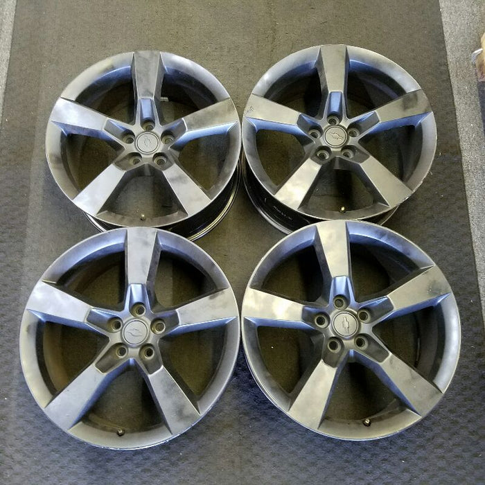"20"" CAMARO 10-11 20x8 (front), (5 spoke), painted (opt Q9K), dark silver Original OEM Wheel Rim 5444"