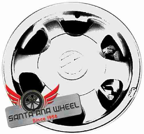"15"" PASSAT 92-94 15x6, alloy, 5 bolt (6 cylinder), 6 spoke Original OEM Wheel Rim 69696"