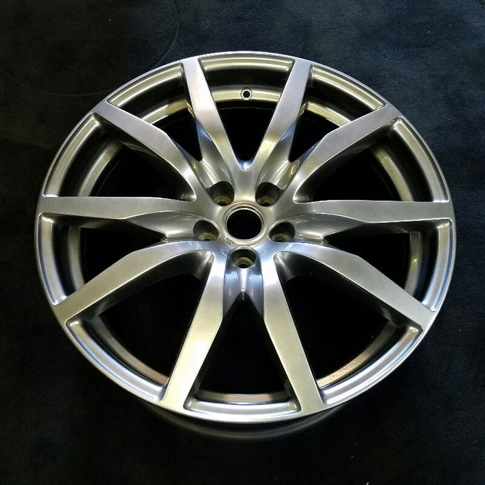 "20"" GT-R 12-16 20x9-1/2 (alloy front) 10 spoke (Premium) Original OEM Wheel Rim 62569"