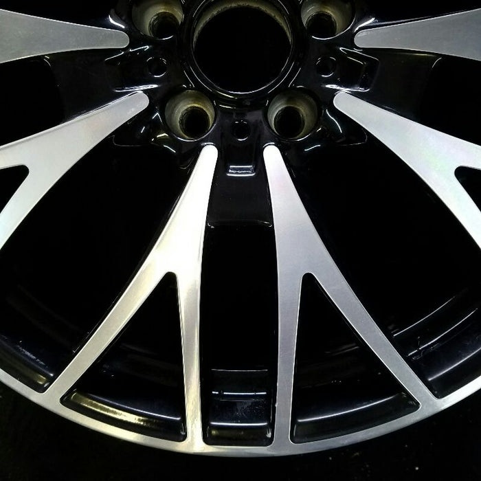 "20"" BMW 320i 12-13 (Sdn Canada market) 20x8-1/2 (alloy) 5 spoke double Y spoke Original OEM Wheel Rim 71552"