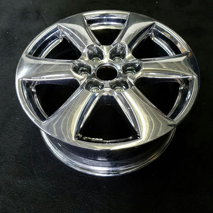 "18"" FORD F150 PICKUP 18 18x7-1/2 aluminum 6 spoke chrome Original OEM Wheel Rim 10168"