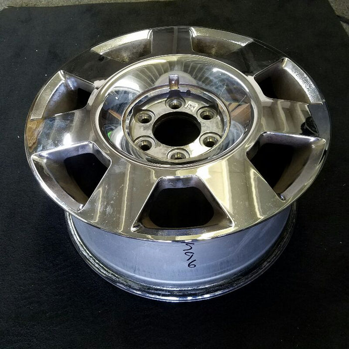 "18"" FORD NAVIGATOR 05-06 18x8"" (road wheel) 7 spoke (alum) chrome plated (ID 5L74-1007-AA) Original OEM Wheel Rim 3596"