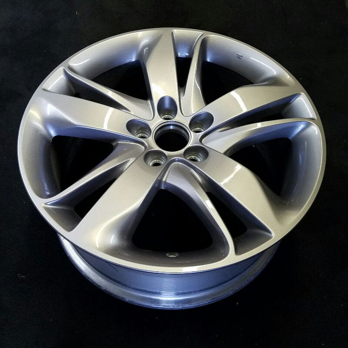 "19"" ACURA RDX 19 19x8 ( alloy ) w/o machined face; painted gray ( factory installed ) Advance Original OEM Wheel Rim 71868"