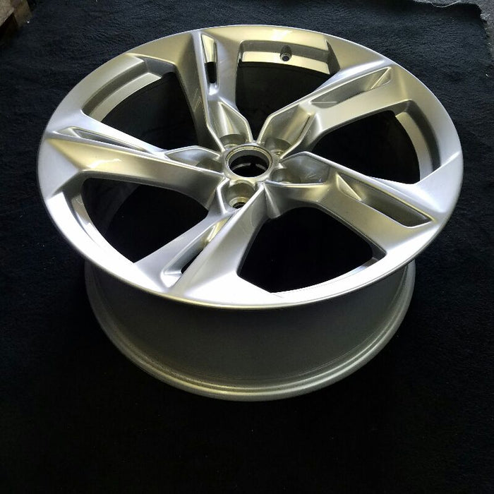 "20"" CAMARO 19 20x8-1/2 5 twisted split spoke silver Original OEM Wheel Rim 5940"