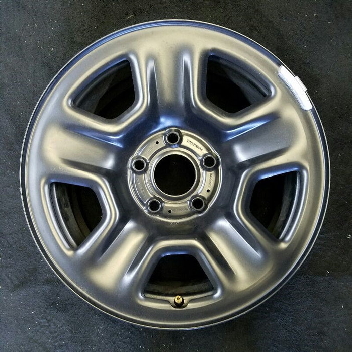 "17"" WRANGLER 19 17x7-1/2 (5 spoke) steel ( opt WD2 black ) Original OEM Wheel Rim 9220"