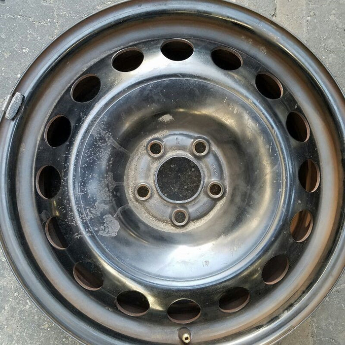 "16"" VOLKSWAGEN GOLF 07 (VIN J 8th digit) (includes City) (5x100mm) 16x6-1/2 steel Original OEM Wheel Rim 69723"