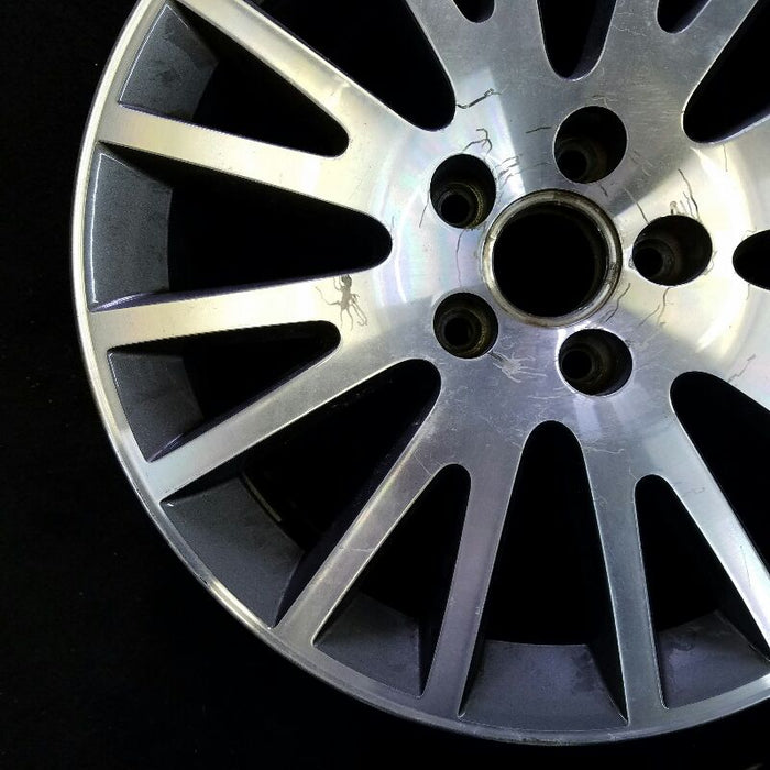 "17"" AUDI A3 06-13 17x7-1/2 (alloy) 16 spoke w/painted inlay Original OEM Wheel Rim 58792B"