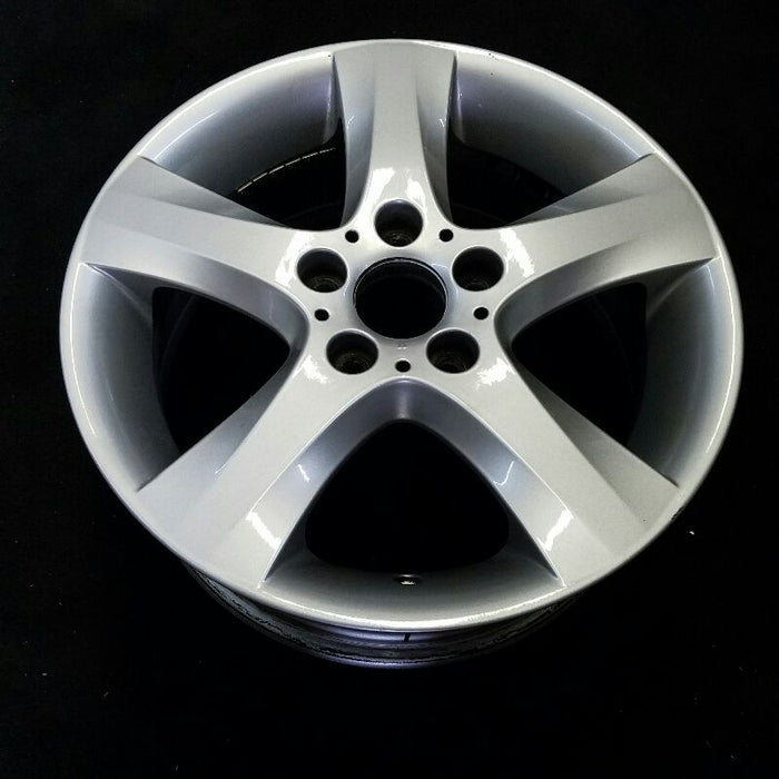 "17"" BMW 135i 08-13 17x7 (alloy) 5 spoke solid spoke tapered spoke edge Original OEM Wheel Rim 71247"