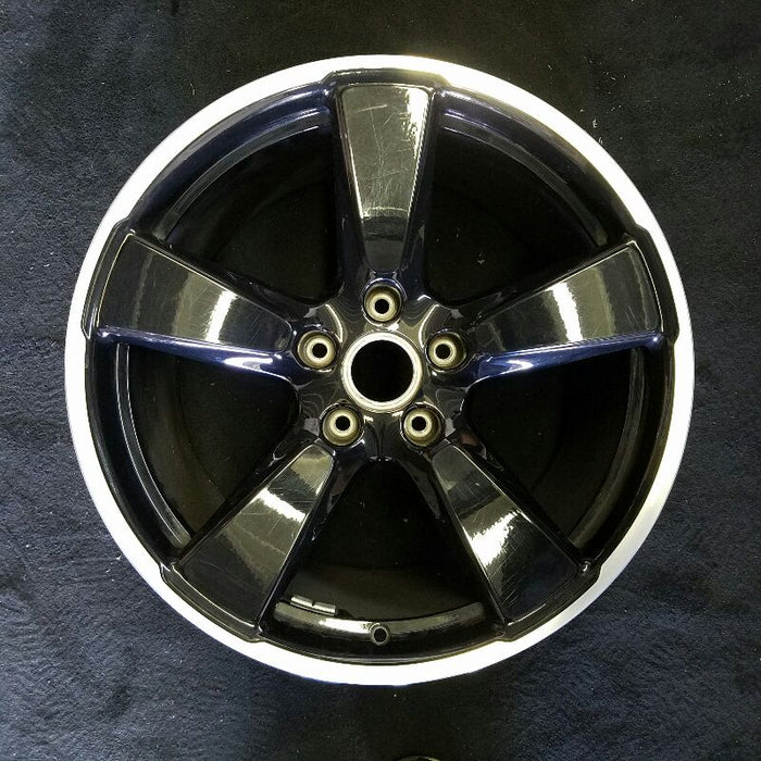 "20"" PORSCHE 911 14-16 (991 model) (96-1/2"" WB) 20x11 1/2 (rear) 5 spoke wide spokes black Original OEM Wheel Rim 67458A"
