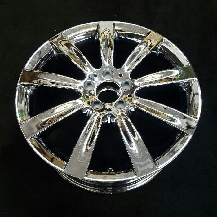 "18"" MERCEDES CL-CLASS 07 216 Type; CL550 18x8-1/2 9 spoke narrow concave spoke (front) Original OEM Wheel Rim 65493"