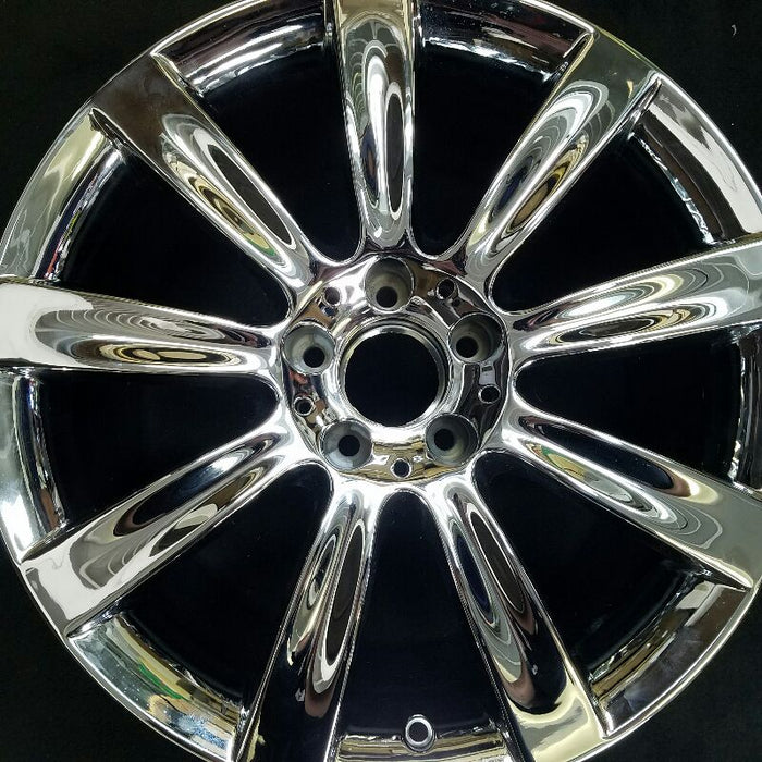 "18"" MERCEDES CL-CLASS 07-08 216 Type; CL550 18x9-1/2 9 spoke (rear) Original OEM Wheel Rim 85036"