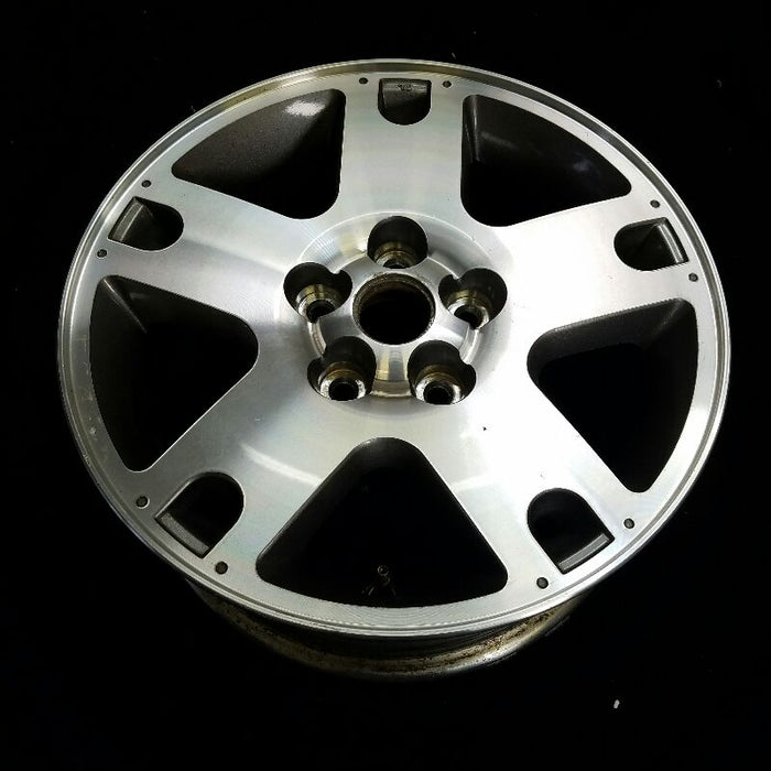 "16"" ESCAPE 02 16x7 (5 spoke aluminum) painted w/exposed lugs (holes in spoke ends) bright machined Original OEM Wheel Rim 3459E"