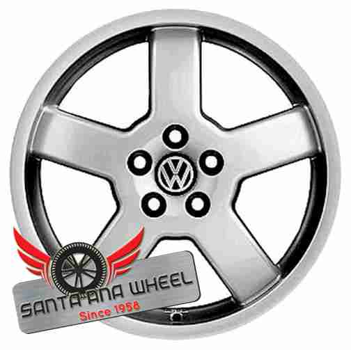 "16"" GOLF GTI 03-04 16x6-1/2, (alloy), 5 spoke Original OEM Wheel Rim 69784 - OEM WHEEL SHOP"