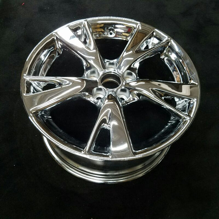 "18"" LEXUS IS250 10 18x8-1/2 (alloy) 5 spoke split (chrome rear) Original OEM Wheel Rim 74217"