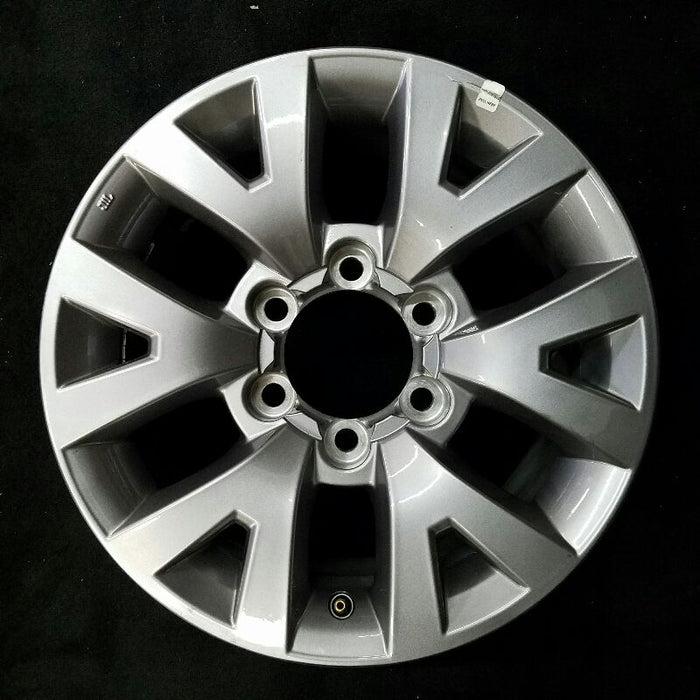"16"" TOYOTA TACOMA 16-17 16x7 alloy painted silver (6 V spoke) Original OEM Wheel Rim 75190"