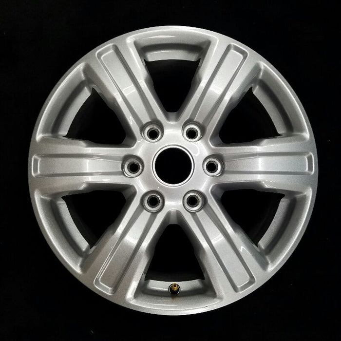 "17"" FORD RANGER 19 17x7-1/2 ( aluminum 6 spoke ) painted ( silver ) Original OEM Wheel Rim 10228"