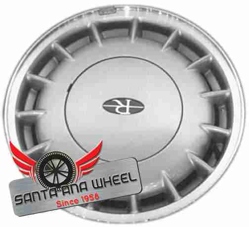 "16"" RIVIERA 96 16x6-1/2 (aluminum), 15 spoke, machined outer edge Original OEM Wheel Rim 4015A - OEM WHEEL SHOP"