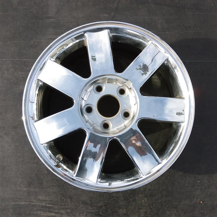 "17"" FIVE HUNDRED 05-06 17x7, (7 spoke, aluminum), w/o exposed lugs Original OEM Wheel Rim 3572 - OEM WHEEL SHOP"