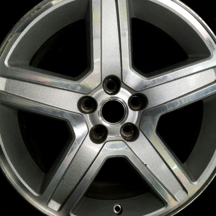 "18"" MAGNUM 08 18x7-1/2 (5 spoke) aluminum w/indented spokes painted finish Original OEM Wheel Rim 2557"