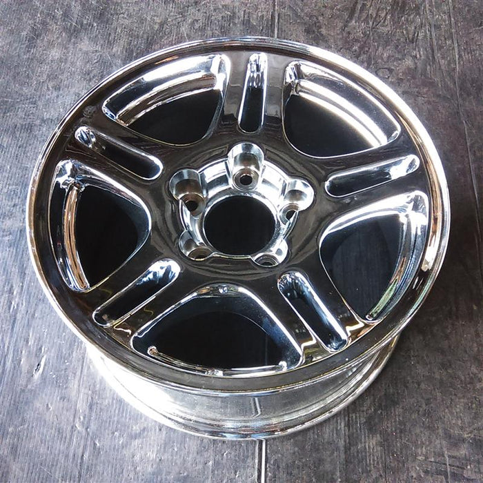 "17"" NAVIGATOR 02 (17x7-1/2), aluminum, 5 double spokes Original OEM Wheel Rim 3467A - OEM WHEEL SHOP"