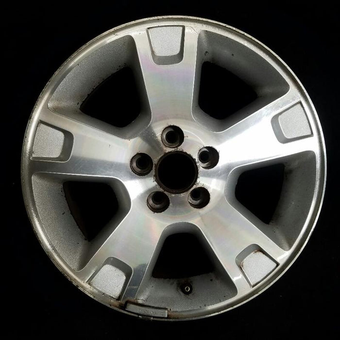 "17"" FORD EXPLORER 02-03 4 Dr exc. Sport Trac; 17x7-1/2 5 spoke (aluminum) machined face with painted pockets Original OEM Wheel Rim 3977"
