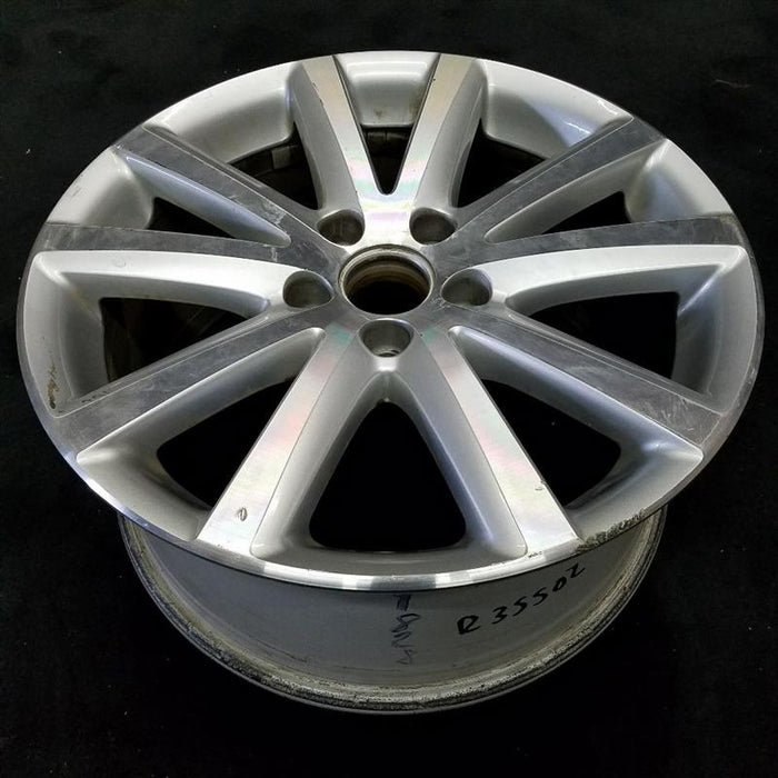 "17"" VOLKSWAGEN PASSAT 06-10 17x7-1/2 (alloy) 10 spoke machine finsh ( LeMans opt CA5 ) Original OEM Wheel Rim 69828"