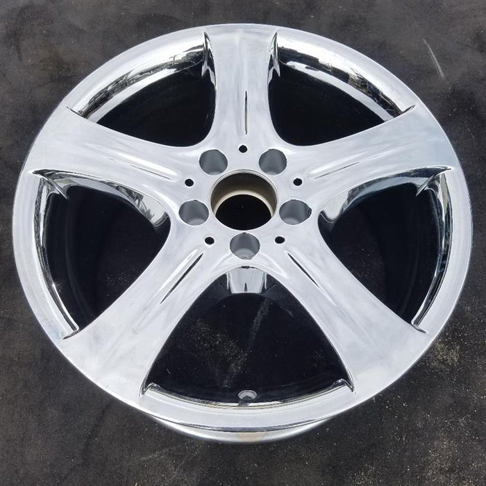 "17"" MERCEDES E-CLASS 15-16 212 Type; Sdn E350 17x8-1/2 (5 spoke) Original OEM Wheel Rim 85396"