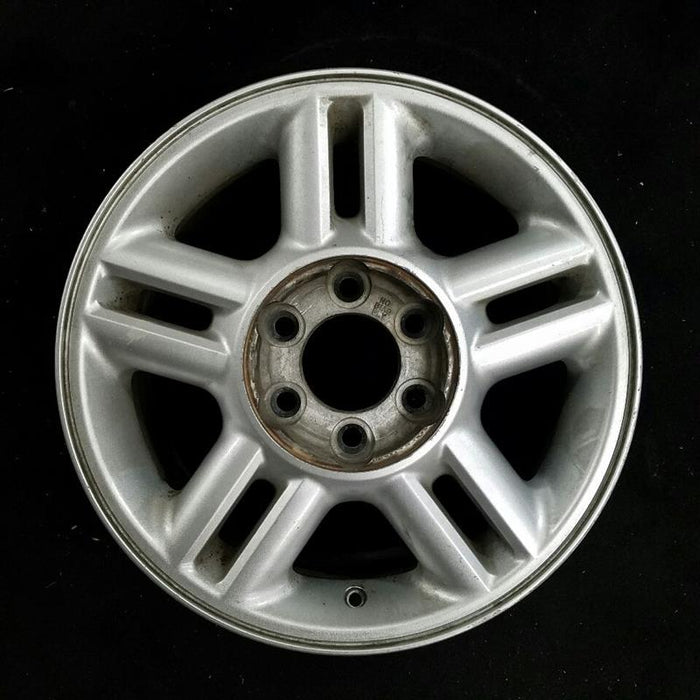 "17"" FORD EXPEDITION 04 (17x7-1/2) 5 spoke aluminum open spokes w/o Original OEM Wheel Rim 3517A"