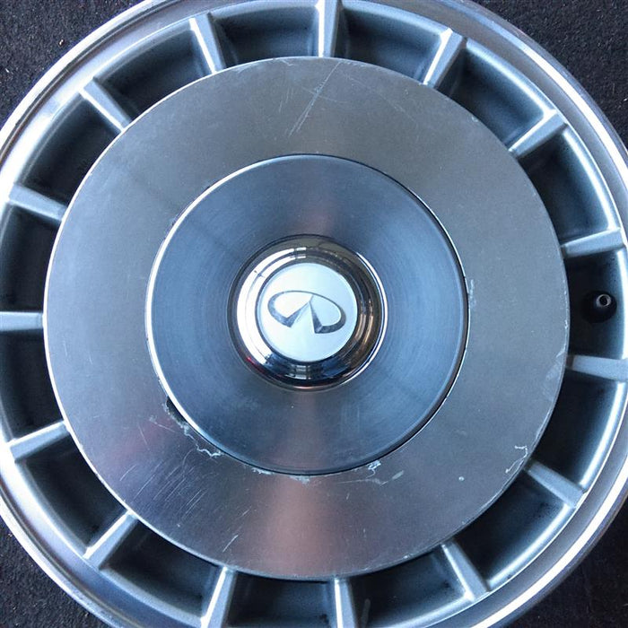 "15"" INFINITI Q45 90-92 15x6 (alloy), front wheel steering Original OEM Wheel Rim 73632 - OEM WHEEL SHOP"