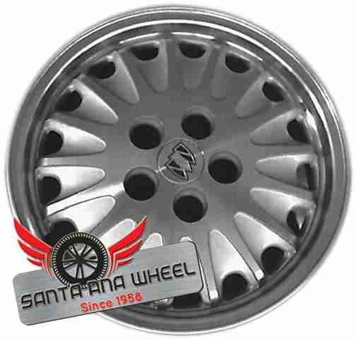 "16"" REGAL 91 16x6-1/2 (aluminum), 17 spoke Original OEM Wheel Rim 4006 - OEM WHEEL SHOP"