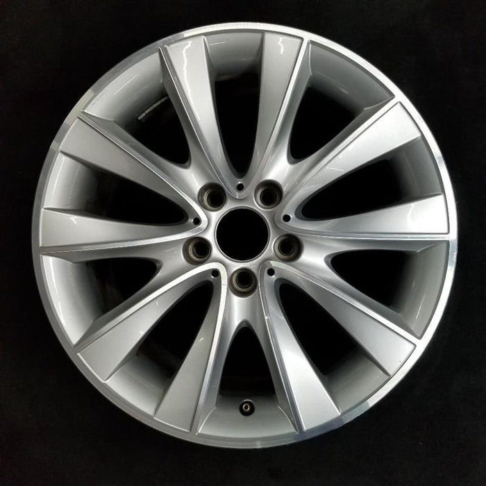 "18"" BMW 535i GT 10-17 18x8 alloy 10 spoke V spoke Original OEM Wheel Rim 71586"