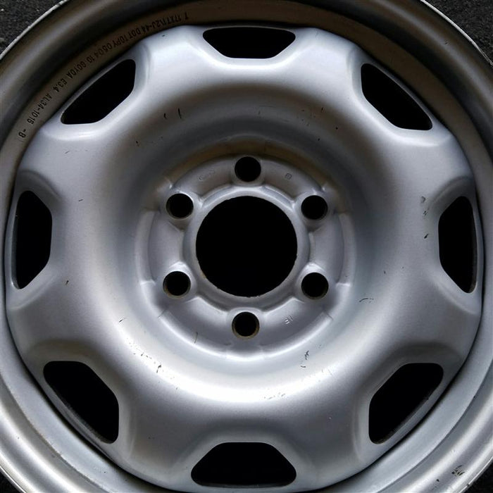 "17"" FORD EXPEDITION 10 17x7-1/2 steel painted silver 8 holes Original OEM Wheel Rim 3857"