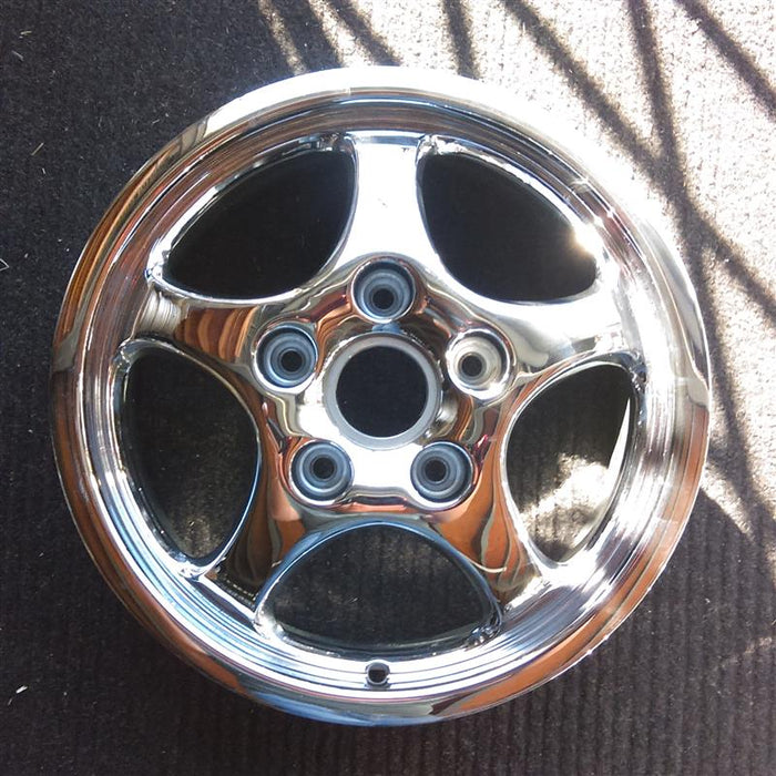 "16"" PORSCHE 911 93-94 exc. Turbo 3.6; 16x6, 5 spoke Original OEM Wheel Rim 67204 - OEM WHEEL SHOP"