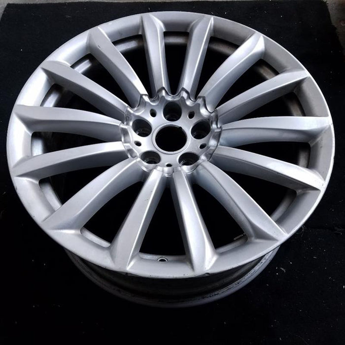 "19"" BMW 640i GT 18-19 19x8-1/2 7 V spoke Original OEM Wheel Rim 86277"