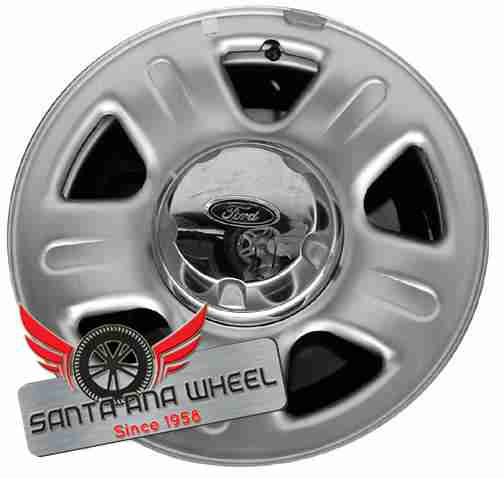 "16"" EXPLORER 04 (4 Dr), exc. Sport Trac; 16x7, steel, 5 spoke, chrome Original OEM Wheel Rim 3452B - OEM WHEEL SHOP"