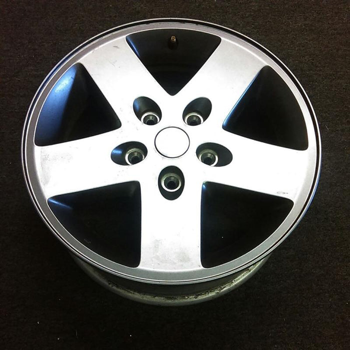 "17"" WRANGLER 07-08 17x7-1/2, painted silver Original OEM Wheel Rim 9074B - OEM WHEEL SHOP"