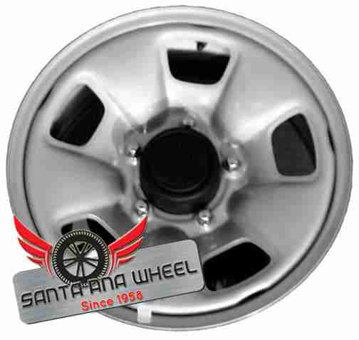"15"" VITARA 00-03 Base, 15x5-1/2 (steel) Original OEM Wheel Rim 72665 - OEM WHEEL SHOP"