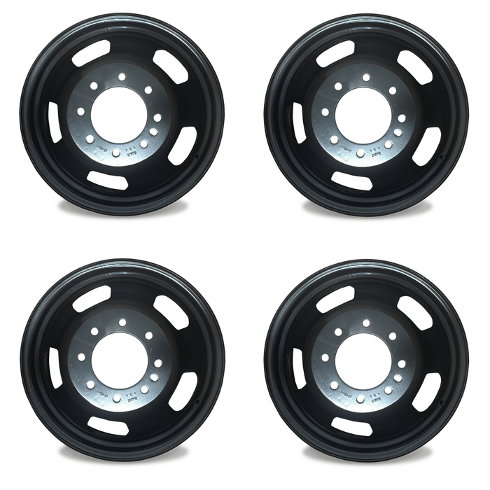 "Set of 4 Brand New 17"" 17x6 Dually Wheel For 2003-2018 Dodge Ram 3500 SUPER DUTY DRW OEM Quality Replacement Rim 2191 02191"