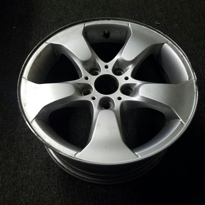 "17"" BMW X3 04-10 17x8 (alloy), 5 spoke, flared spoke Original OEM Wheel Rim 71158 - OEM WHEEL SHOP"