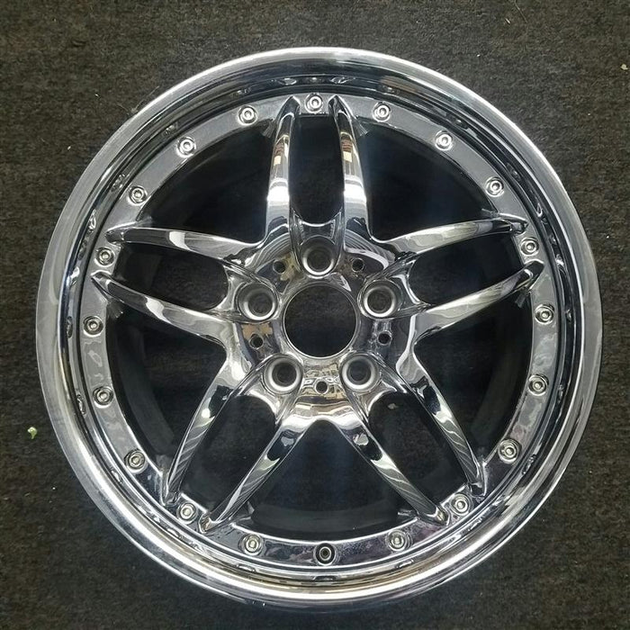 "17"" BMW 540i 00 17x8 (alloy), 10 spoke Original OEM Wheel Rim 59314 - OEM WHEEL SHOP"
