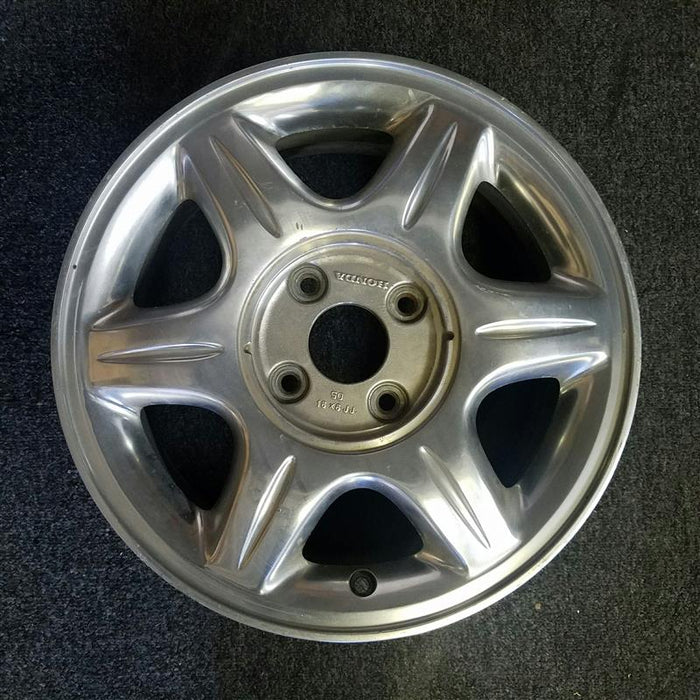 "16"" CL 97 16x6 (alloy), 6 spoke, polished Original OEM Wheel Rim 71689"