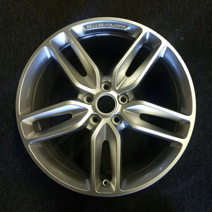 "20"" CORVETTE 14-17 rear 20x10 painted silver (opt Q7S) Original OEM Wheel Rim 5641"