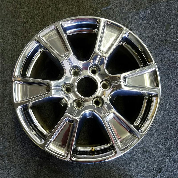 "18"" FORD F150 PICKUP 15-17 18x7-1/2 aluminum 6 spoke chrome Original OEM Wheel Rim 3998"