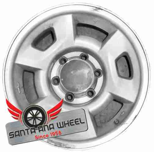 "16"" ISUZU RODEO 95-97 16x7-1/2 (alloy), 6 spoke Original OEM Wheel Rim 64207 - OEM WHEEL SHOP"