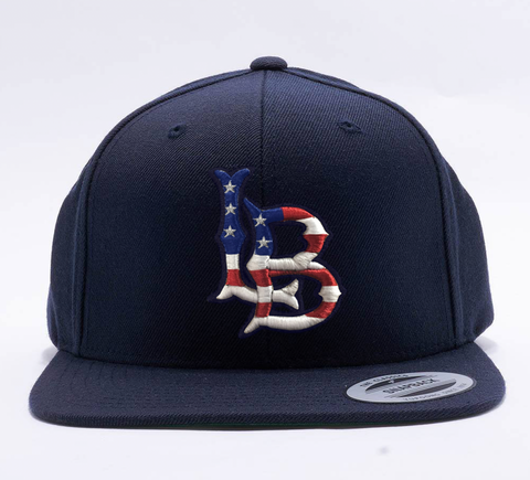 "Long Beach Patriot ""Snap-Back"""