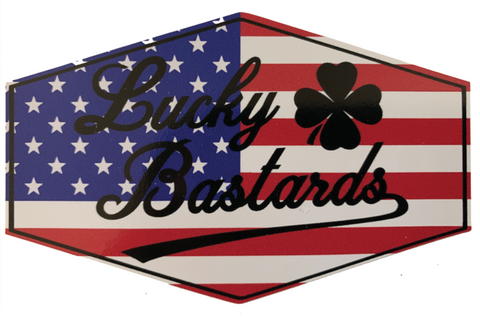 Lucky Bastards Stickers